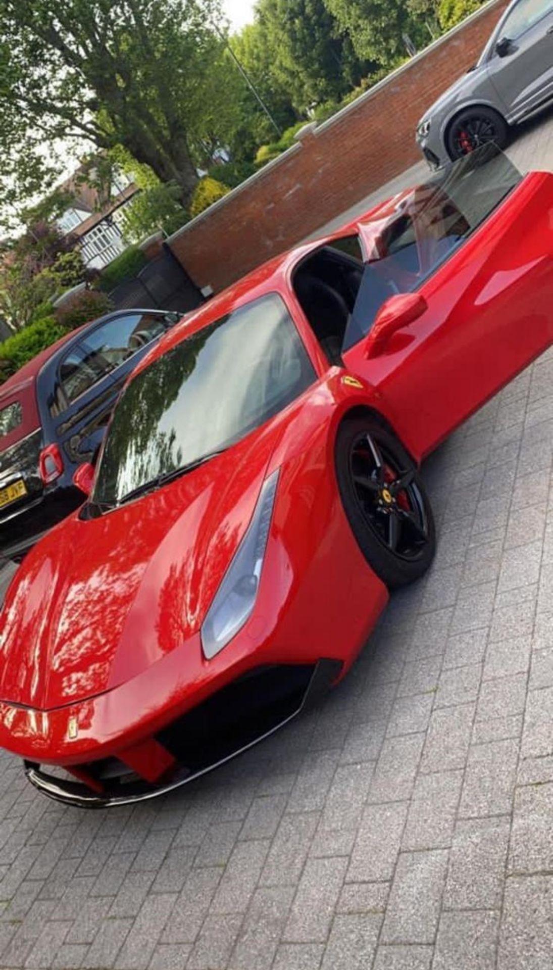 2016 FERRARI 488 GTB 2DR RED COUPE, PETROL, AUTOMATIC, 11K MILES, LEFT HAND DRIVE *NO VAT* - Image 2 of 22