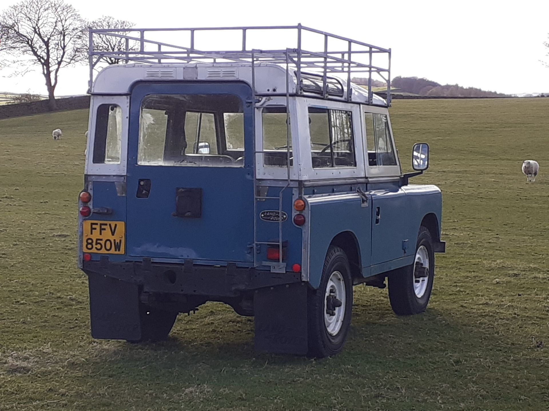 1980 LAND ROVER SERIES III CLASSIC STATION WAGON, TAX AND MOT EXEMPT *NO VAT* - Image 10 of 22