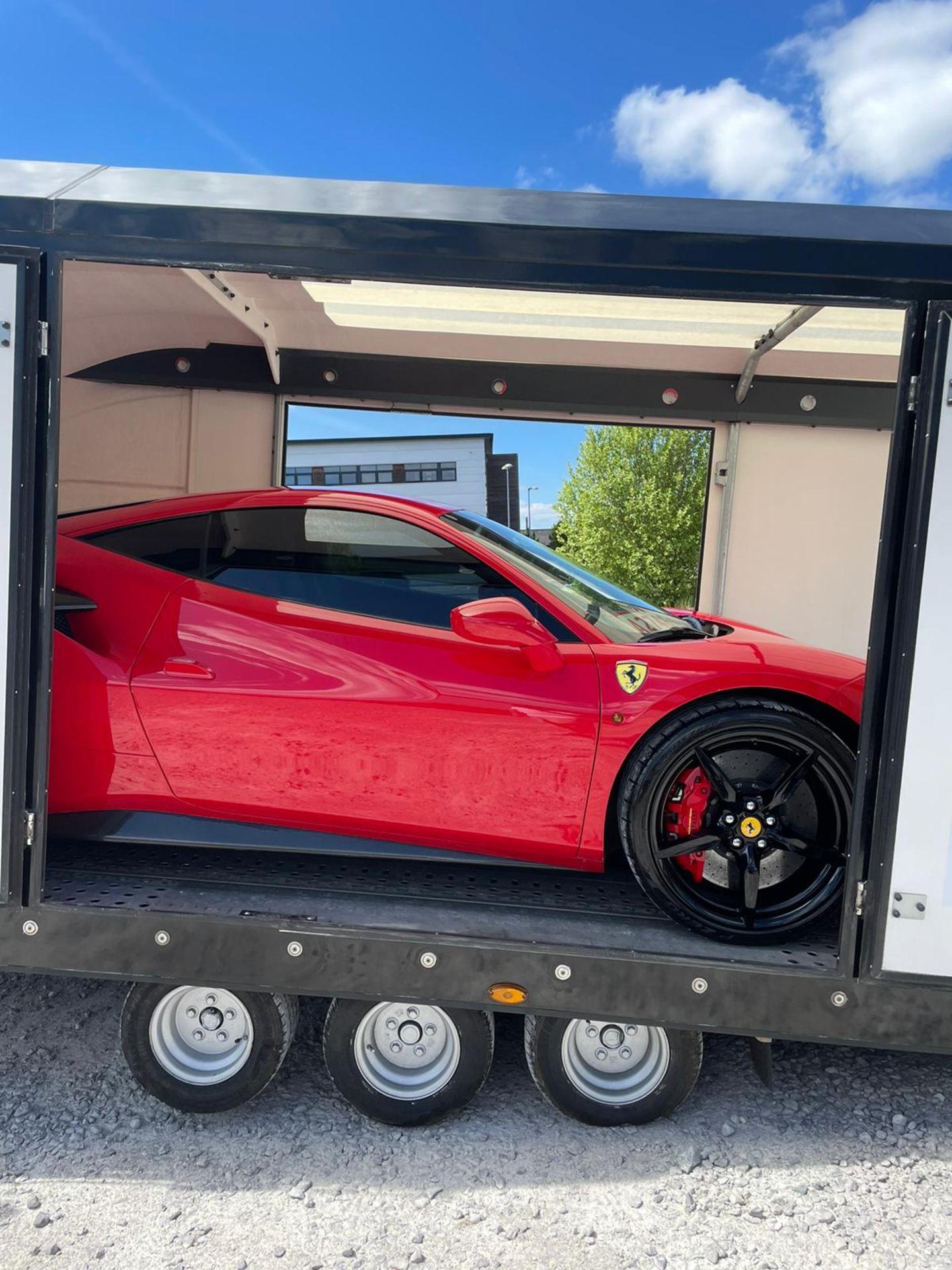 2016 FERRARI 488 GTB 2DR RED COUPE, PETROL, AUTOMATIC, 11K MILES, LEFT HAND DRIVE *NO VAT* - Image 7 of 22