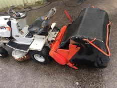 LASER L95 RIDE ON LAWN MOWER WITH COLLECTOR, KOHLER COMMAND 12.5 HP *NO VAT*
