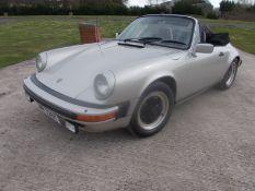1983 (Y) PORSCHE 911SC CONVERTIBLE, 3.0 PETROL, 5 SPEED MANUAL, LEFT HAND DRIVE *NO VAT*