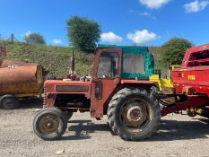 INTERNATIONAL B275 TRACTOR WITH CAB, RUNS AND WORKS WELL, ROAD REGISTERED *PLUS VAT*