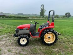 YANMAR FORTE AF-18 COMPACT TRACTOR, RUNS DRIVES AND WORKS, SHOWING 468 HOURS *PLUS VAT*