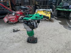 WACKER NEUSON BS60-2 TRENCH HAMMER, RUNS AND WORKS,GOOD COMPRESSION, DIRECT FROM HIRE COMPANY*NO VAT