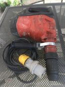 1 x HILTI TE 60 AVR 110v HAMMER DRILL AND BREAKER WITHOUT BOX *NO VAT*