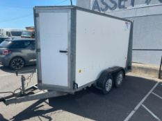 IFOR WILLIAMS BOX TRAILER, BV105G 10x15ft, IN EXCELLENT CONDITION *NO VAT*