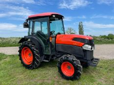 2014 KUBOTA L5740 TRACTOR, RUNS AND DRIVES, PTO WORKS, LINKAGE ARMS WORK, FULLY GLASS CAB *PLUS VAT*