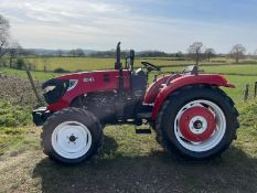 NEW AND UNUSED ZOOM 604WD TRACTOR, RUNS AND DRIVES, 4 CYLINDER DIESEL ENGINE, ALL TERRAIN *PLUS VAT*