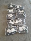 10 x LAND ROVER DISCOVERY 3 / 4 TAILORED WATERPROOF SEAT COVERS, NEW ZIP BAGS, NEW OLD STOCK *NO VAT