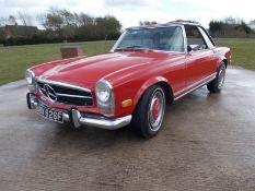 1968 (F) MERCEDES 250SL R107,2.5 LITRE PETROL AUTOMATIC, LEFT HAND DRIVE, FULLY UK REGISTERED*NO VAT
