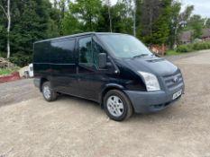 2012 FORD TRANSIT 100 T260 FWD BLACK PANEL VAN, 92K MILES, 2.2 DIESEL ENGINE *NO VAT*
