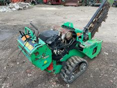 2015 Ditch witch RT20 Trencher, Runs Drives And Works, Honda V Twin Engine, Electric Start *PLUS VAT