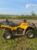 BOMBARDIER CAN AM 2 SEATER QUAD BIKE ROAD REGISTERED, SELECTABLE 4 WHEEL DRIVE *NO VAT*