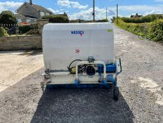 WESSEX FLAIL COLLECTOR FOR TRACTOR, HYDRAULIC TIPPER, PTO IS INCLUDED, PTO DRIVEN *PLUS VAT*