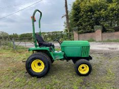 JOHN DEERE 755 COMPACT TRACTOR, SHOWING 3138 HOURS, PTO WORKS, RUNS AND DRIVES *PLUS VAT*