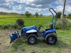 S E P GULLIVER OVERDRIVE 416 COMPACT TRACTOR WITH FRONT SNOW PLOUGH, ROLL BAR *PLUS VAT*