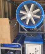 INDUSTRIAL / COMMERCIAL DUST SUPRESSION WATER CANNON, BRAND NEW, ONLY OPENED FOR TESTING *NO VAT*