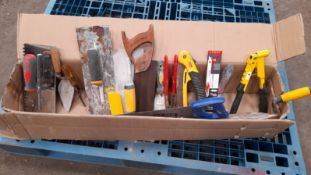 SELCETION OF HAND TOOLS *PLUS VAT*