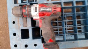 EINHELL DRILL, UNTESTED AS IT HAS NO BATTERY *PLUS VAT*