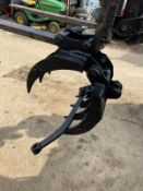 NEW AND UNUSED 2020 7 PIECE FINGER GRAB FOR MINI DIGGER, 25mm PINS *NO VAT*