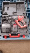 EINHELL HAMMER DRILL, 1.5AMP BATTERY AND CHARGER, DOESN'T RUN UNSURE WHY *PLUS VAT*