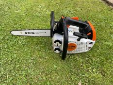 """2019 STIHL MD194T TOP HANDLE CHAINSAW, RUNS AND WORKS, EX DEMONSTRATOR, 12"""" BAR AND CHAIN *NO VAT*"""