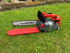 """MITOX TOP HANDLE CHAINSAW, RUNS AND WORKS, 12"""" BAR AND CHAIN, BAR COVER INCLUDED *NO VAT*"""