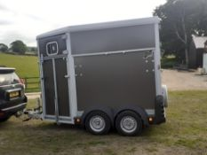 2018 IFOR WILLIAMS HB506 HORSE BOX TRAILER, 18 MONTH WAITING LIST FOR THIS MODEL *NO VAT*