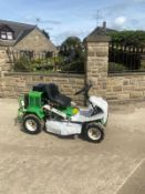 ETESIA ATTILA 85 BANK MOWER, RUNS DRIVES AND CUTS, HOURS ARE SHOWING 554 *NO VAT*