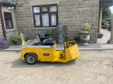 BRADSHAW T1 ZERO EMISSIONS VEHICLE, 24v BATTERY OPERATED, BULT IN CHARGER, YEAR 2013 *PLUS VAT*
