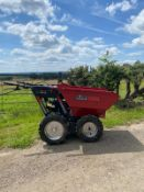 NEW AND UNUSED 2021 4WD SELF PROPELLED WALK BEHIND PETROL MINI DUMPER, MANUALS ARE INCLUDED *NO VAT*