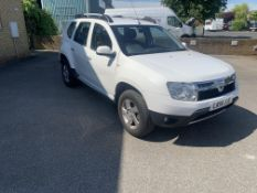 2014 DACIA DUSTER 1.5dci WHITE 5 DOOR HATCHBACK, 17K MILES, SHOWING 0 PREVIOUS KEEPERS *NO VAT*