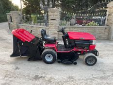 WESTWOOD T1800 4WD PETROL RIDE ON MOWER WITH WOOD CHIPPER / SHREDDER, 4 WHEEL DRIVE *NO VAT*