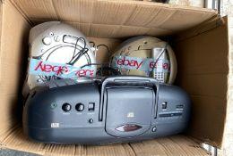 BOX OF CD PLAYERS, SONY, GOODMANS, TESCO, BUSH, SAMSUNG *NO VAT*
