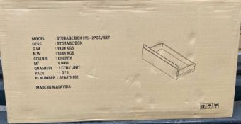 10 x CHERRY STORAGE BOX 315 - 2pcs SET BRAND NEW, BOXED *NO VAT*