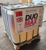 1000L IBC OF DUOMAX SUPER CONCENTRATED DISINFECTANT, MADE IN UK, MARCH 2020, ALL DOCUMENTS ATTACHED