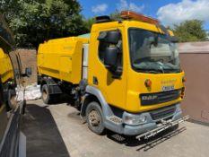 2009/58 DAF TRUCKS SWEEPER, 4461cc DIESEL ENGINE, HAD £8000 RECENTLY SPENT ON IT *PLUS VAT*