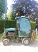 HAYTER RIDE ON CYLINDER MOWER WITH CAB, ROAD REGISTERED, RUNS DRIVES AND CUTS, 4WD *PLUS VAT*