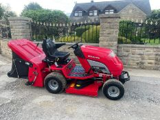 COUNTAX C25-4WD RIDE ON LAWN MOWER, RUNS AND WORKS, CUTS AND COLLECTS *NO VAT*
