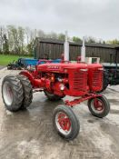 McCORMICK FARMALL A SERIES TWIN ENGINED TRACTOR, RUNS, DRIVES AND WORKS *PLUS VAT*