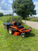 2015 KUBOTA GZD21 HIGH TIP ZERO TURN MOWER, SOLD NEW MID 2017, SHOWING A LOW 203 HOURS *PLUS VAT*