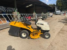 CUBCADET CC1023 RIDE ON LAWN MOWER, RUNS WORKS AND BLADES SPIN, HYDRO FORWARD AND REVERSE *NO VAT*