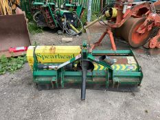 SPEARHEAD Q15S FLAIL MOWER, ALL FLAILS SEEM THERE, PTO DRIVEN, PTO INCLUDED, WEIGHT 360kg *PLUS VAT*