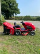 COUNTAX C400H RIDE ON LAWN MOWER, GOOD SOLID DECK, HONDA 14hp VTWIN ENGINE *NO VAT*