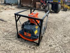 NEW AND UNUSED HEAVY DUTY MULCHER FLAIL MOWER, HYDRAULIC DRIVEN, 45mm PINS *PLUS VAT*