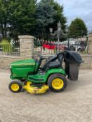 JOHN DEERE GT235 RIDE ON LAWN MOWER WITH COLLECTOR, 48 INCH CUTTING DECK *NO VAT*