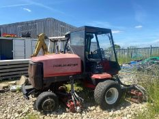 TORO REELMASTER 6500D RIDE ON LAWN MOWER, DIESEL ENGINE, 4 WHEEL DRIVE, BEEN SAT FOR A WHILE *NO VAT