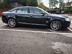 2010 AUDI A6 SLINE SP ED TDI QUAT A BLACK 4 DOOR SALOON, AUTOMATIC, 3.0 DIESEL ENGINE *NO VAT*