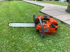 """HUSQVARNA T540 XP TOP HANDLE CHAINSAW, RUNS AND WORKS, 14"""" BAR AND CHAIN *NO VAT*"""