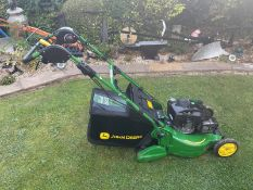 2019 JOHN DEERE R54RKB SELF PROPELLED LAWN MOWER WITH REAR ROLLER AND COLLECTOR *NO VAT*